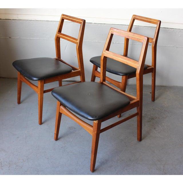 Mid-Century Danish Modern Foster-McDavid Furniture Inc. Chairs - Set of 3 - Image 11 of 11