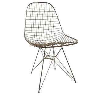 Eames Mid-Century Wire Chair For Sale