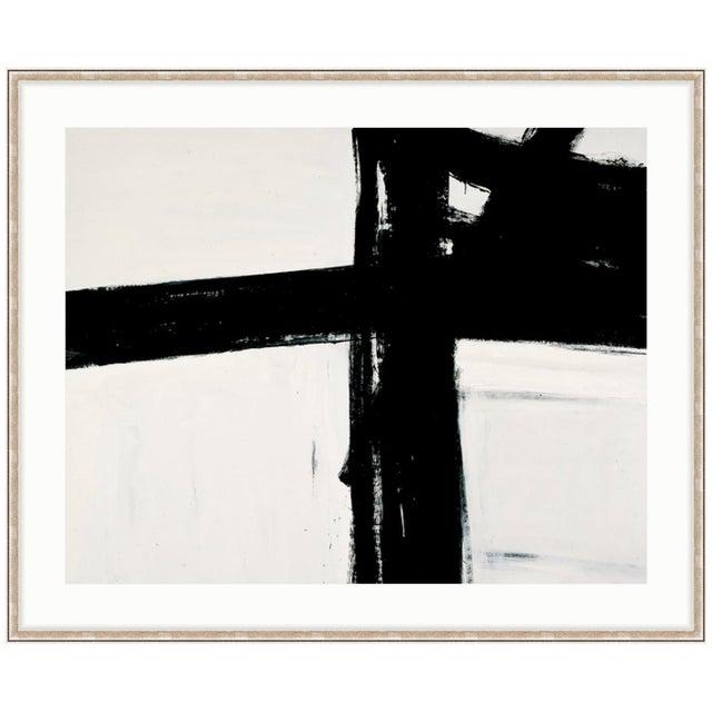 Franz Kline Untitled Black & White Abstract Framed Art Print - Image 1 of 3