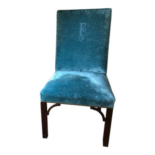 1990s Vintage Upholstered Dining Chairs- Set of 10 For Sale