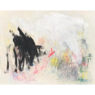 """Sarah Trundle Contemporary Abstract Painting, """"Placido"""" For Sale"""