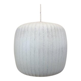 "1950s Mid-Century Modern George Nelson ""Marshmallow"" Hanging Pendant Light For Sale"