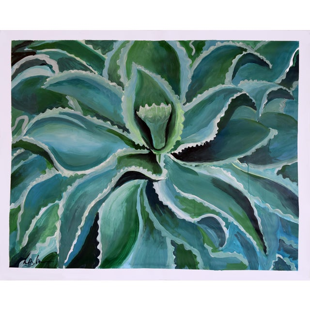 Sensuous Succulent Painting - Image 2 of 10