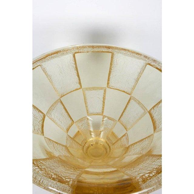 Daum Nancy Art Deco Large and Important Daum Nancy Vase For Sale - Image 4 of 6