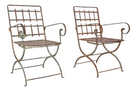Image of Antique White Patio and Garden Furniture