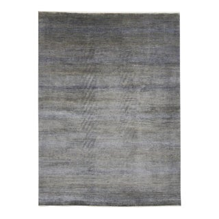 Contemporary Transitional Gray Area Rug - 09'00 X 12'02 For Sale