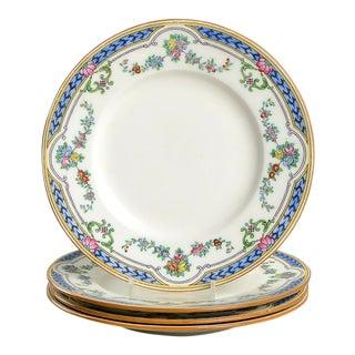 Minton Ripon Blue Appetizer Plate - Set of 4 For Sale