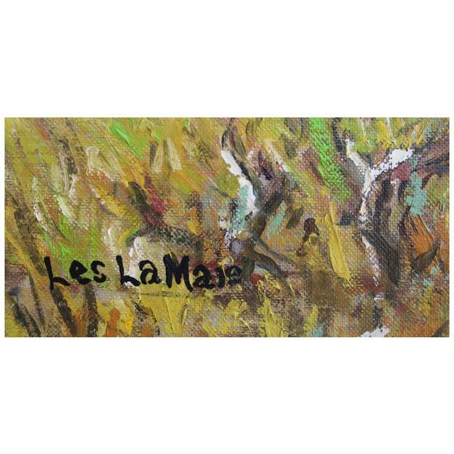 Impressionist California Colors by Les LeMaie For Sale - Image 3 of 4