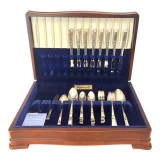 Oneida Community Morning Star Coronation Silverware - 52 Piece Set For Sale