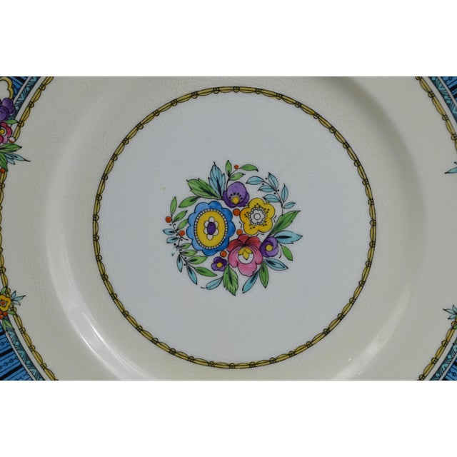 Vintage Minton Luncheon Plates - Set of 8 - Image 6 of 11