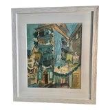 Image of Raoul Dufy Village Scene Lithograph For Sale