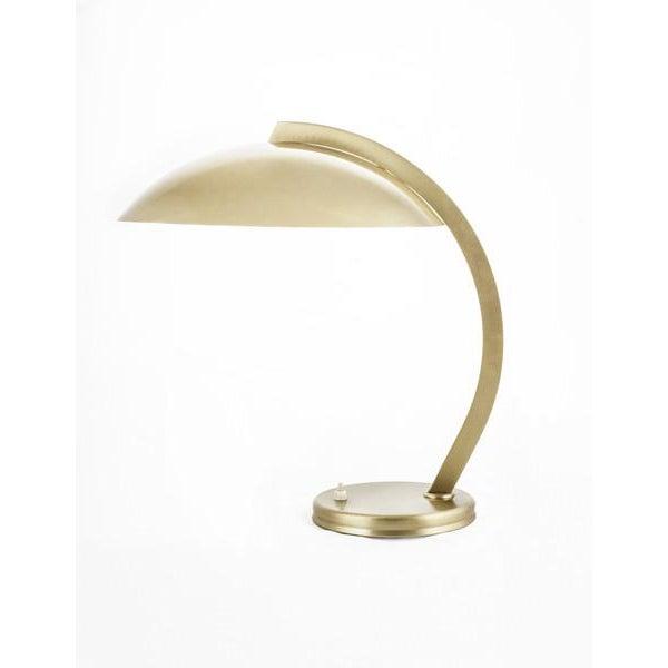 30's Bauhaus Hillebrand Bronze Plated Desk Lamp - Image 2 of 3