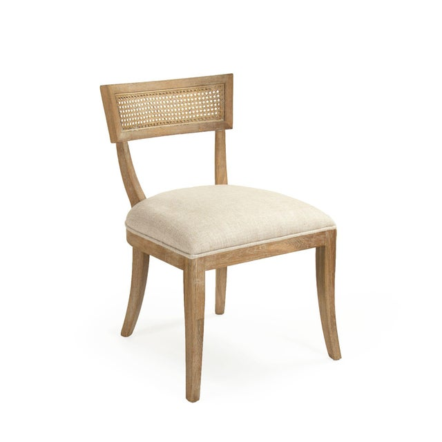 Selborne Cane Back Side Chair in Cream For Sale In Atlanta - Image 6 of 6
