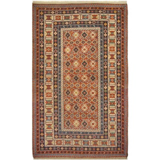 Mansour Exceptional Handmade Shirvan Design Rug For Sale