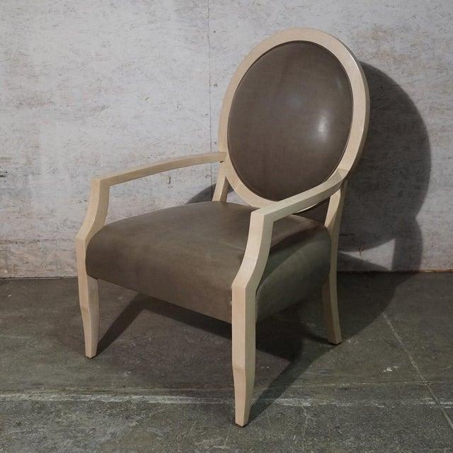 Art Deco J Robert Scott Dining Chair For Sale - Image 3 of 7