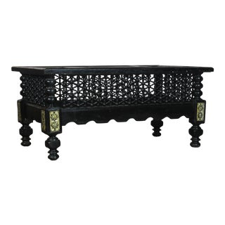20th Century Moroccan Syrian Style Coffee Table For Sale