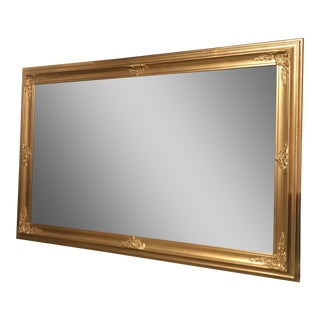 Antique Mirror and Frame