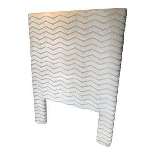 Custom Twin Size Upholstered Headboard For Sale