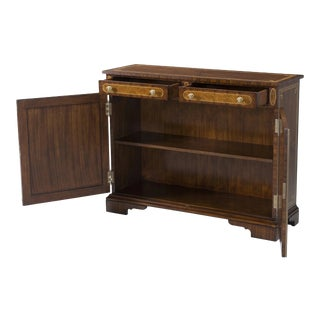 Regency Rosewood Inlaid Side Cabinet For Sale