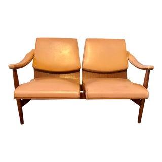 Mid-Century Modern Thonet Bentwood Loveseat For Sale