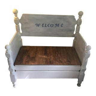 Decorative Opening Bench
