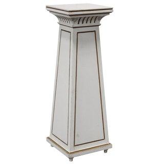 Antique Swedish Empire Revival Tapered Pedestal For Sale