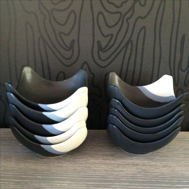 Ceramic Bowl Set - Set of 12 - Image 4 of 10