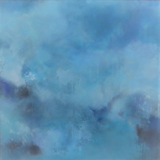 """""""Finding the Way Home"""" Abstract Mixed-Media Painting on Canvas by C. Damien Fox For Sale"""