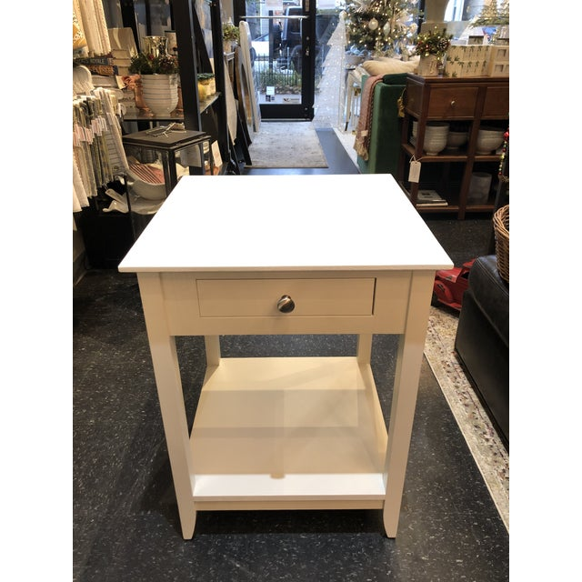 White Borkholder Fifth Avenue Nightstands-a Pair For Sale - Image 8 of 11