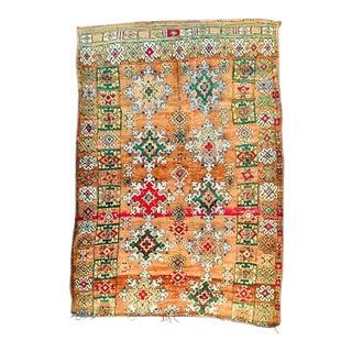 Vintage Boujad Rug - 6′8″ × 9′7″ For Sale