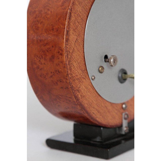 Machine Age Gilbert Rohde Herman Miller Century of Progress Clock, No. 4725B For Sale - Image 9 of 11