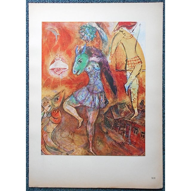 Vintage Marc Chagall Lithograph, Folio Size - Image 2 of 4