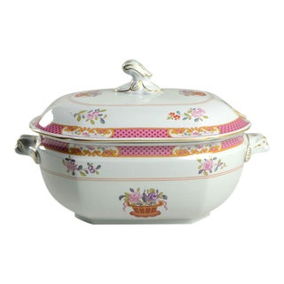 1960s Spode Lord Calvert Pink Tureen & Lid For Sale