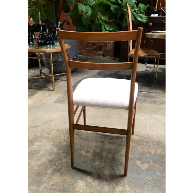 1950s Gio Ponti Superleggera Dining Chairs - a Pair For Sale In Los Angeles - Image 6 of 9
