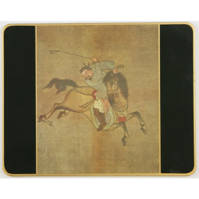 Set of (10) Ming Polo English Scully & Scully Park Ave Plate Mats!~ - Image 4 of 7