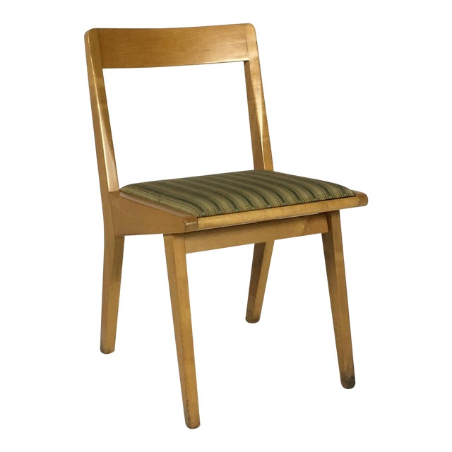 1950s Mid-Century Modern Jens Risom Knoll Side Chair For Sale