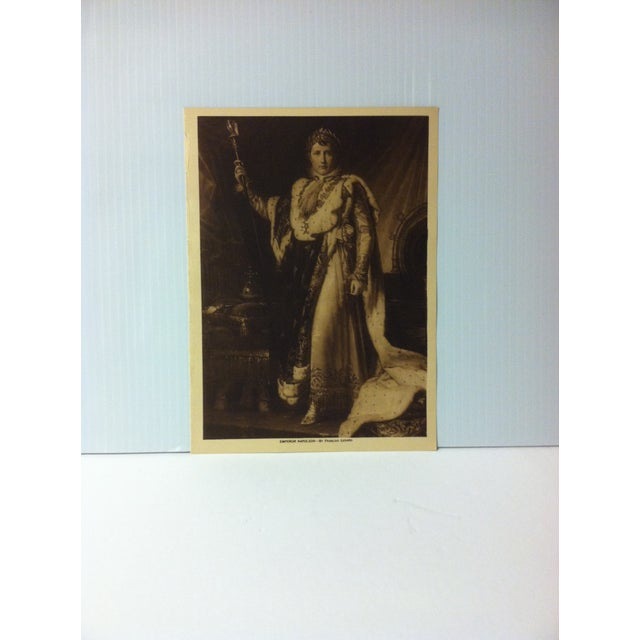 "Circa 1915 ""Emperor Napoleon"" the Mentor Association Print For Sale - Image 4 of 4"