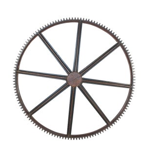 Large Wood Gear Mold