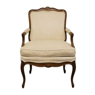 20th Century French Louis XVI Henredon Furniture Accent Arm Chair