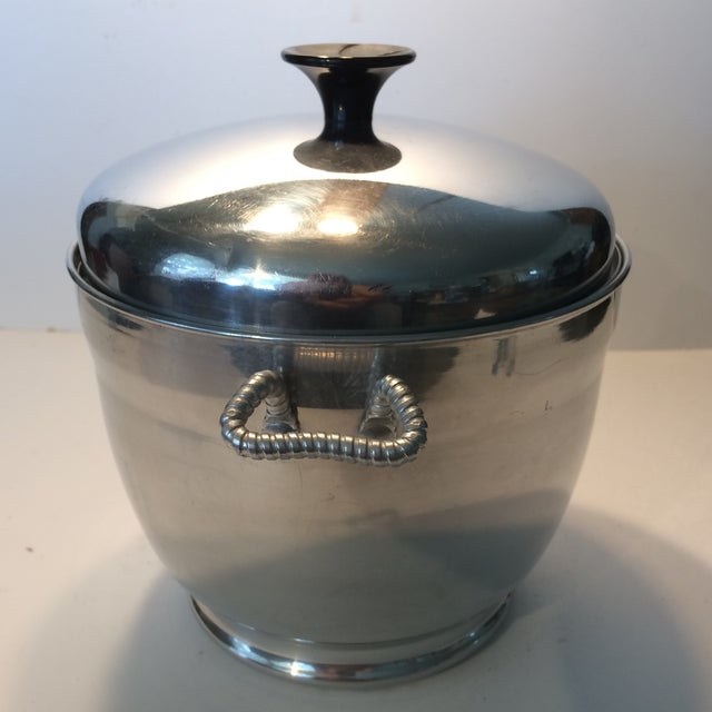 Mid-Century Modern Mid-Century Modern Insulated Ice Bucket For Sale - Image 3 of 11