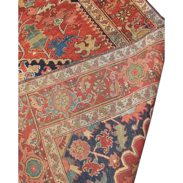 Beautiful Small Heriz Carpet - Image 3 of 3