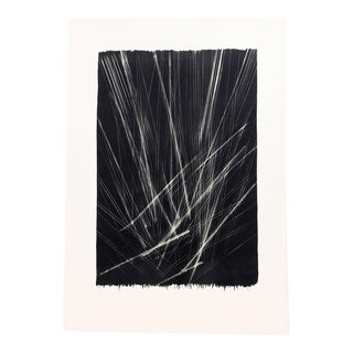 Hans Hartung Lithograph on Arches Paper 1966 For Sale