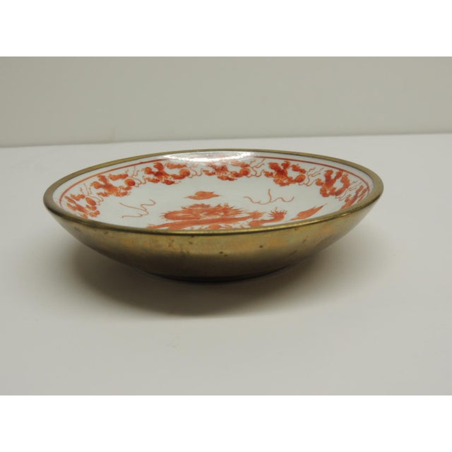 Small Vintage Japanese Decorative Ceramic Plate - Image 3 of 4
