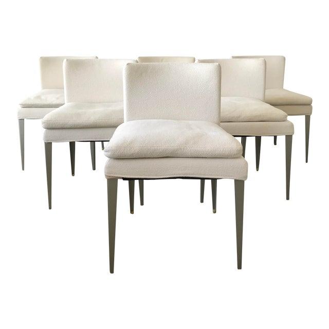 B&b Maxalto Eunice Dining Chairs - Set of 6 For Sale