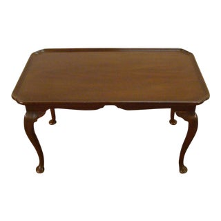 Kittinger Old Dominion Solid Mahogany Coffee Table