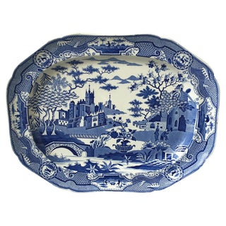 19th Century English Transferware Platter