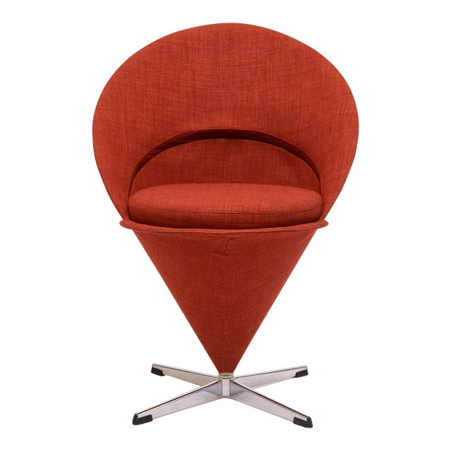 Cone chair by Verner Panton For Sale