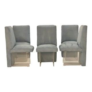 "Set of 6 Vladimir Kagan ""Clos"" Chairs For Sale"