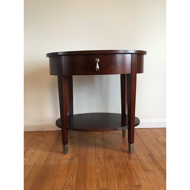 Ethan Allen Side Table - Image 2 of 4