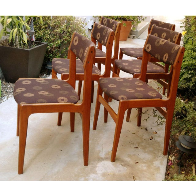 Anderstrup Mobelfabrik Danish Modern Teak Dining Chairs - Set of 6 - Image 3 of 6